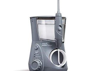 Waterpik WP 667 Water Flosser Electric Dental Countertop Professional Oral Irrigator For Teeth  Aquarius  Modern Gray