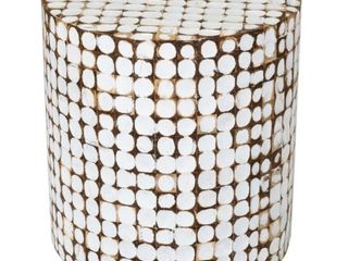 East at Main Mila Accent Table   16  x 16  x 16 5