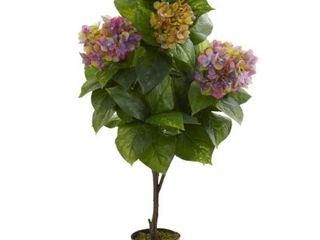 Nearly Natural 45  Hydrangea Artificial Plant
