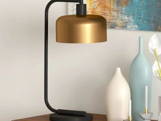 Cadmus Industrial Table lamp in Antique Brass