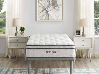 TWIN Modway Jenna Ultimate Quilted Pillow Top 10  Innerspring Mattress