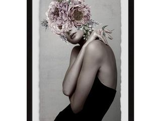 Marmont Hill   Handmade Floral Posh Framed Print  Retail 171 99