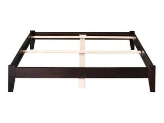 Atlantic Furniture Side Rails  Only  in Espresso for Twin Full Size