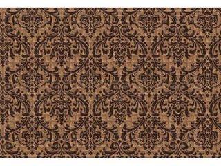 Indoor  Outdoor Damask Doormat  24 x 36
