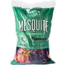 Traeger Pellets 20 lb  Bag   NSS   Mesquite