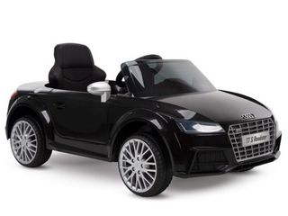 12V Audi Electric Battery Powered Ride On Car for Kids  Black