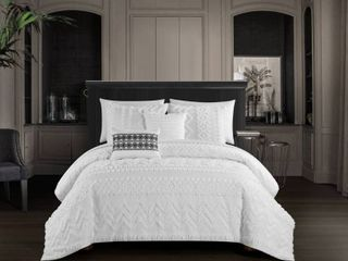 Chic Home Addison 5 Piece King Comforter Set Bedding