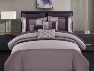 Chic Home Ayelet 10 Piece King Bed In a Bag Comforter Set Bedding