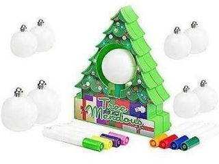 TreeMendous Ornament Decorating Kit with 9 Ornaments by lori Greiner