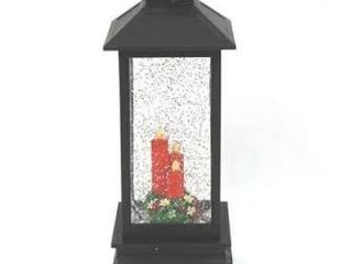 Illuminated Holiday Water lantern with Timer by lori Greiner Candles