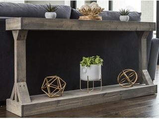 Barb large Console Table Solid Wood by Del Hutson Designs Retail 224 49