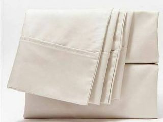 Home Reflections 500TC Cotton Blend Sheet Set w  Extra Cases Taupe King