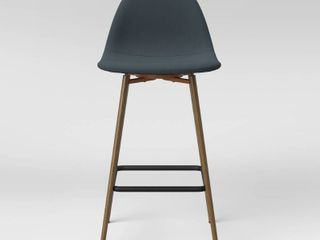 Copley Upholstered Counter Height Barstool light Teal   Project 62