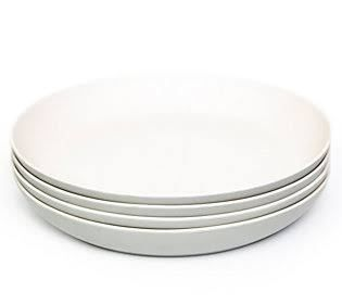 Bamboozle Set of 4 Dinner Blates  Dove  null