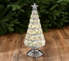 13  Illuminated Faceted Glass Gem Tree by Valerie