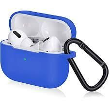 Topetech 4 In 1 Accessory Set for Apple Airpods Pro  Blue