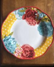 Pioneer Woman Blossom Jubilee 10 5in Dinner Plate