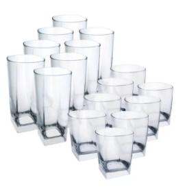 luminare Sterling Bar Glassware Set