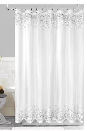 Twilight Fabric Shower Curtain