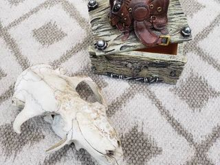 Skull and Cowboy Trinket Box