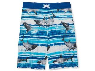 Wonder Nation Quick Dry Swim Shirt and Shorts