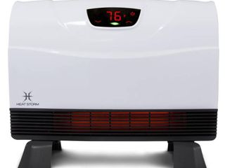 Heat Storm Phoenix 1 500 Watt Electric Infrared Wall Mounted Heater