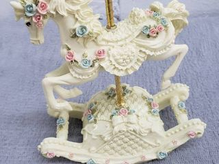 Rocking Carousel Horse Wind up Musical