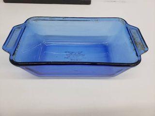 Anchor Ovenware Cobalt Blue loaf Dish