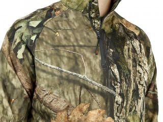 Mossy Oak Performance Fleece 1 4 Zip Camo Pullover
