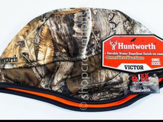 Huntworth Fleece Beanie Reversible Camo Hat