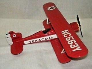 Texaco Diecast Biplane