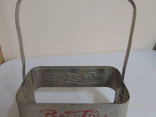 Pepsi 6 pack metal carrier