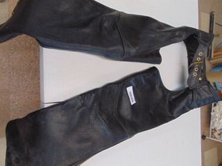 California Creations leather Chaps   Small