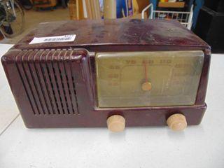 GE Model 400 tube radio
