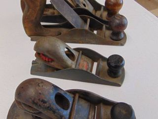 4 wood planes  stanley and more