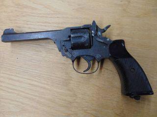 Non functioning prop gun