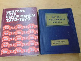 2 automobile repair manuals