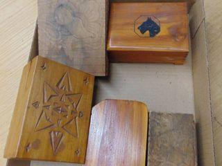 wood jewlery boxes