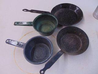 graniteware pan set