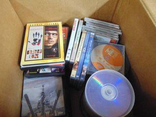 cd dvd assortment