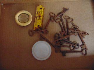 keys and licnse tags