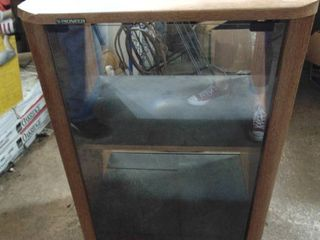 Pioneer stereo cabinet