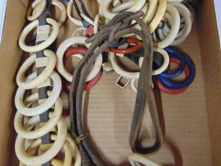 celluloid harness rings