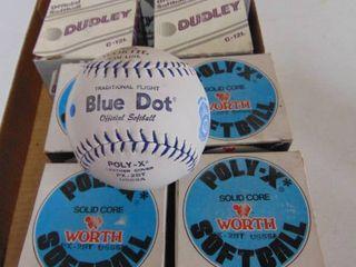 8 softballs
