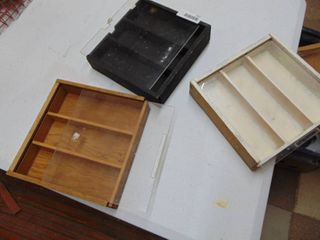 3 Display Cabinets
