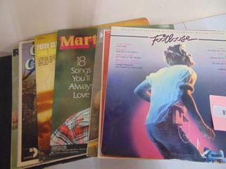 15  record albums