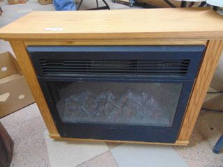 Electric Fireplace Amish Mantel