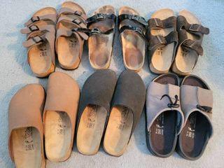 lot of 5 Womans Birkies Tatami  Birkenstock Sandals