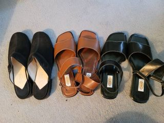 lot of 3 Gently Used Talbots Sandals Size