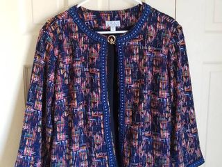Joan Rivers Colorful Top Size large